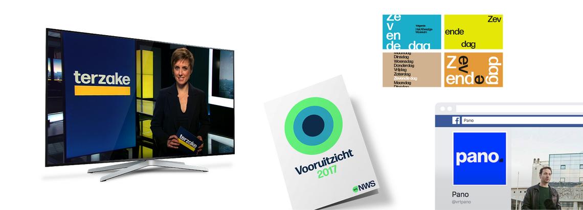 Creative director Ken De Keyser bij VRT NWS