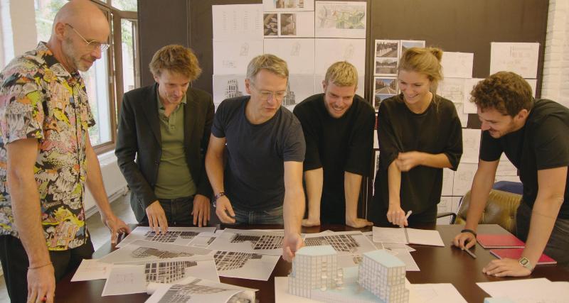 Sven Grooten van B-architecten