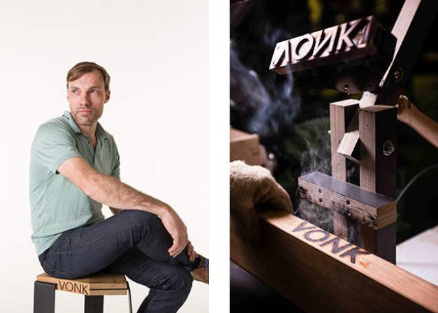 Het parcours van Jonas Willems en zijn meubelmerk VONK
