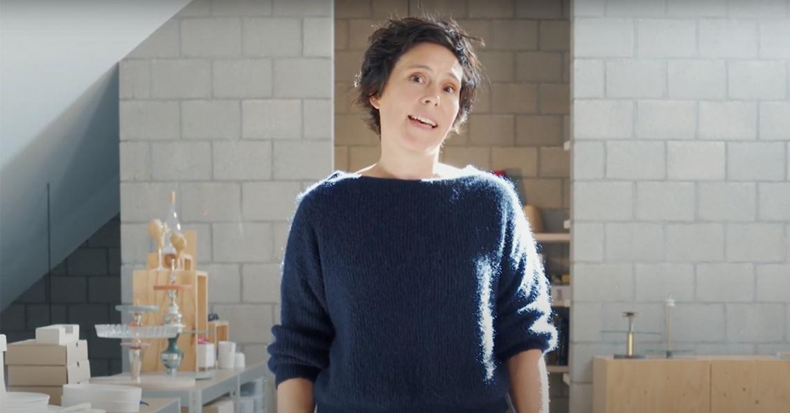 """Designer Linde Hermans: """"Het is belangrijk om als ontwerper dicht bij jezelf te blijven"""""""