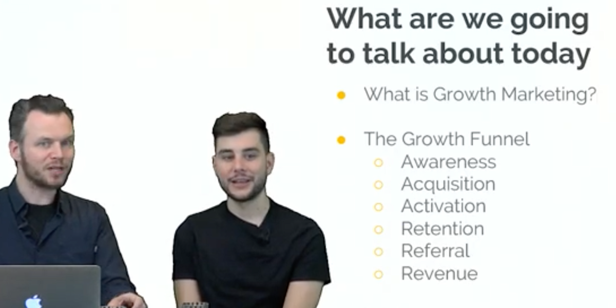 Growth hacking: intro