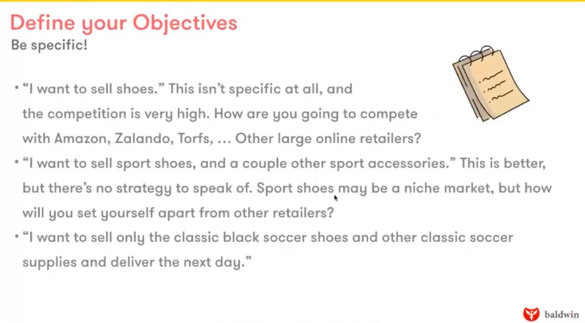 Optimaliseer je webshop: definieer je doel en aanbod