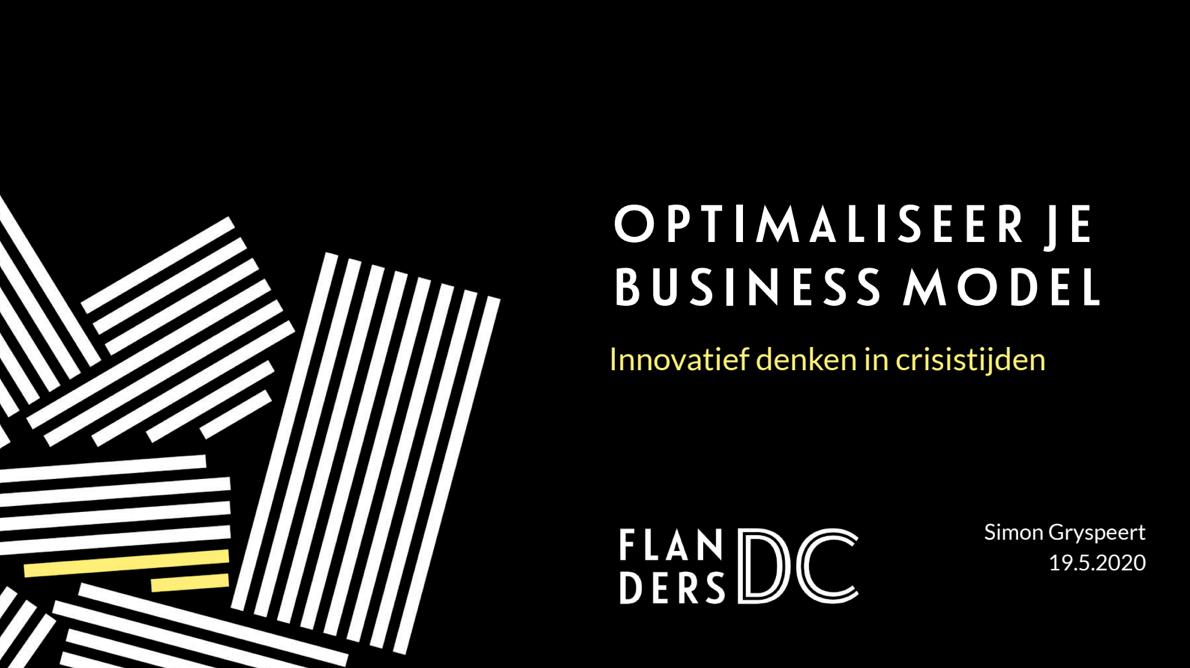 Optimaliseer je businessmodel: intro