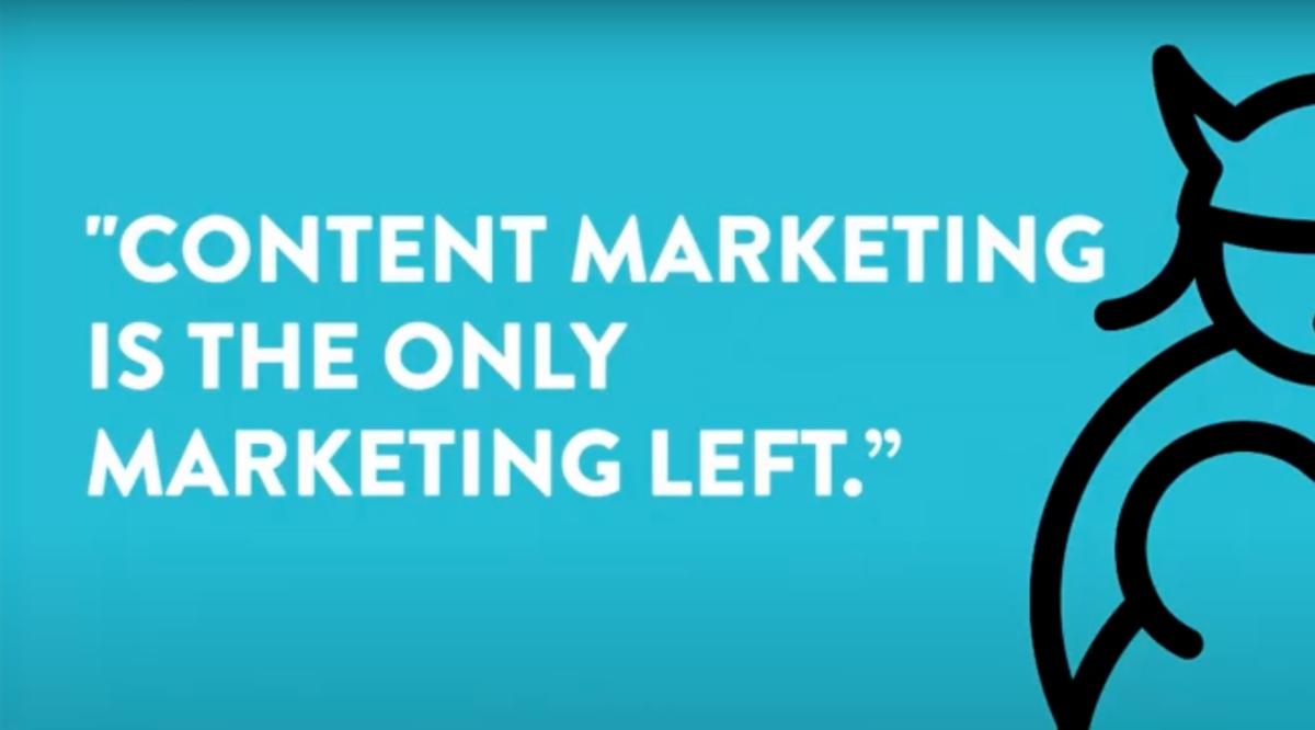 Content marketing: intro