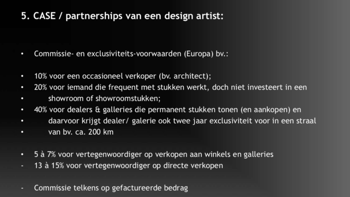 Design verkopen: design artists
