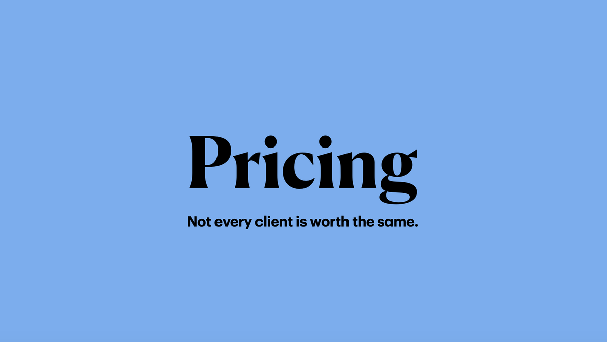 Work for hire: pricing
