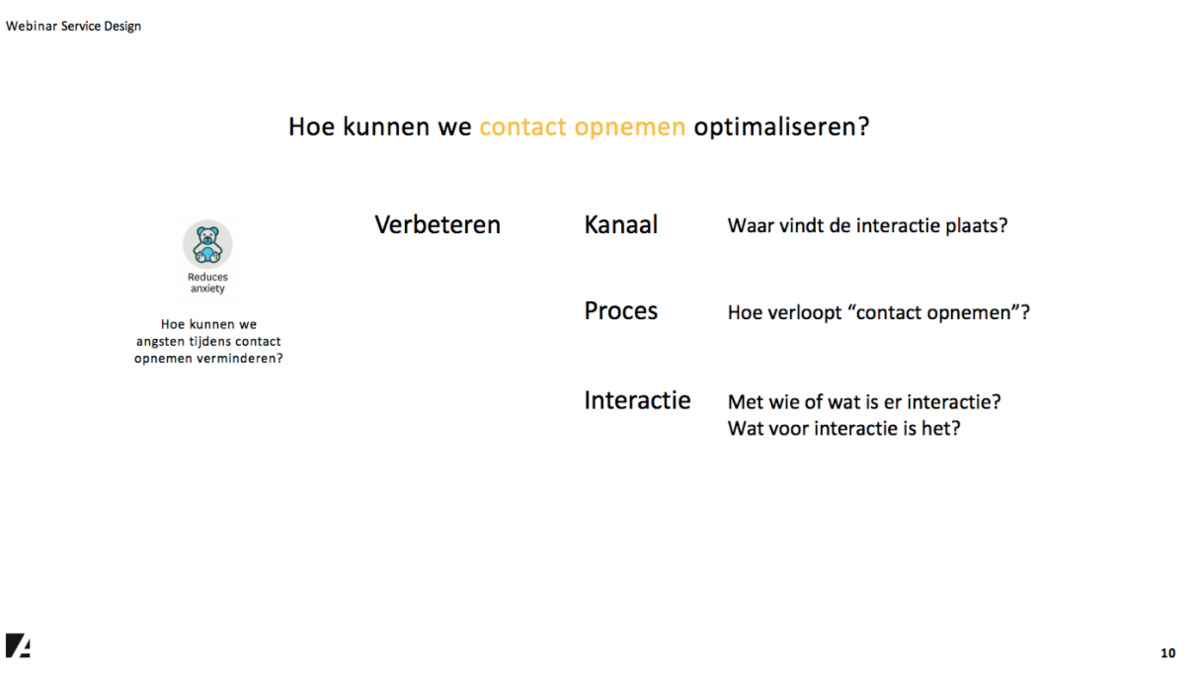 Service design: het touchpoint verbeteren