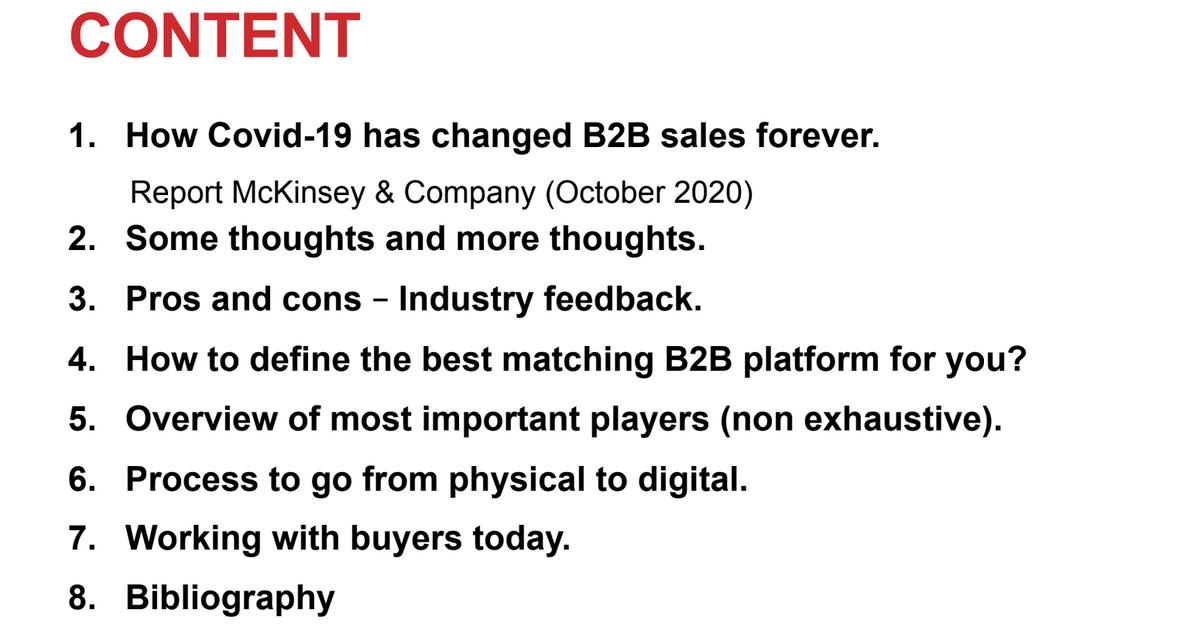 Verkopen via een digitale showroom: ransformatie van de B2B-sales