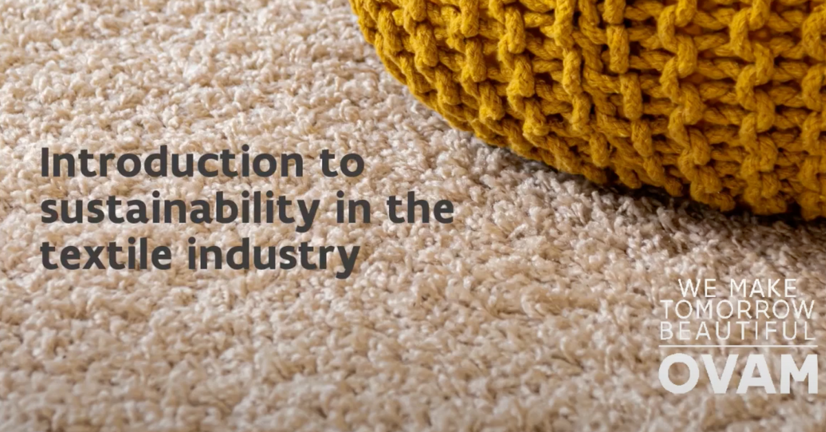 Webinar: Sustainable fashion - prepare your business for EU policy: introduction