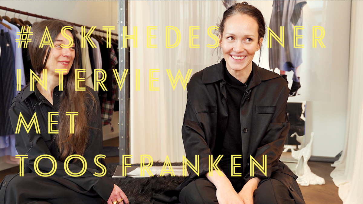 #askthedesigner met modeontwerpster Toos Franken