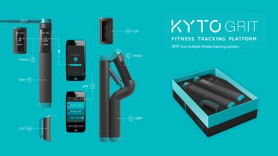 Ontwerp van een trackingsysteem voor fitness, Studio Dott