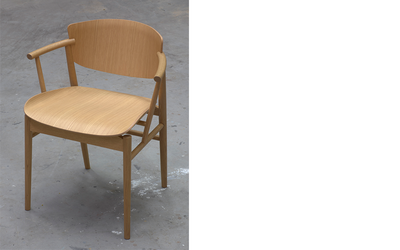 N01 chair, Nendo for Fritz Hansen