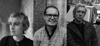 Cecilia Verheyden, Peter Bouckaert en Lars Damoiseaux