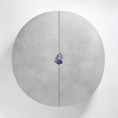 Off-Round Cabinet (Lapis Lazuli), Pierre De Valck